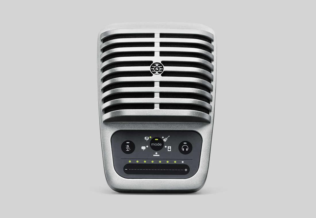 【正規品】SHURE MV51 新品 コンデンサーマイク[シュアー][Condenser Microphone][MV51A-A]