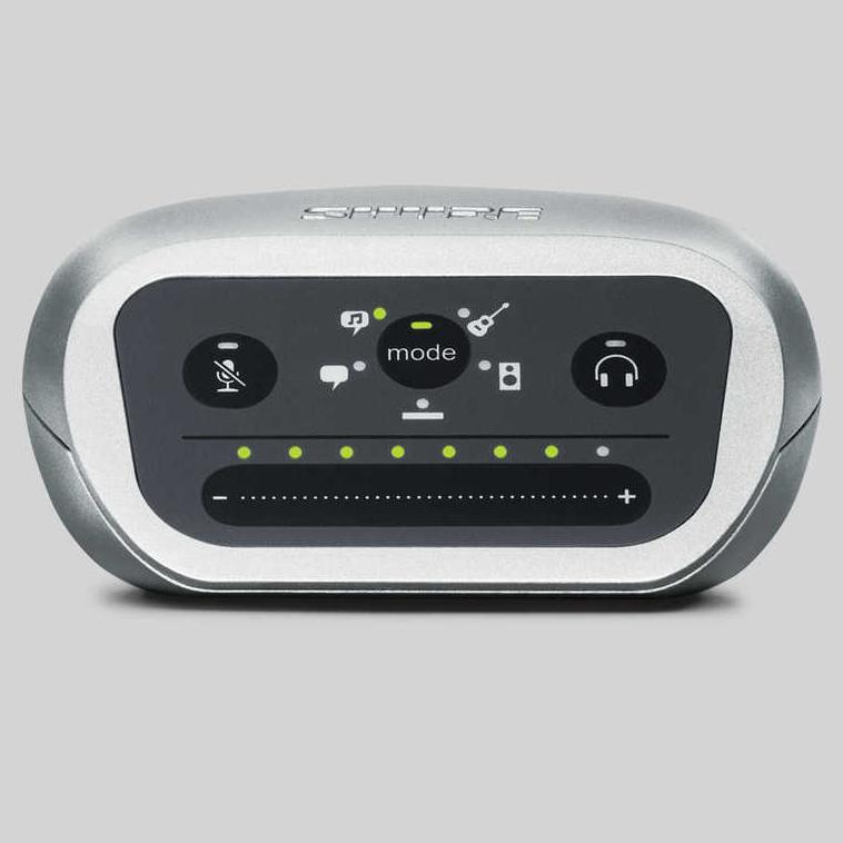 【正規品】【ライトニングケーブル付】SHURE MOTIV MVIA-LTG-A 新品 オーディオインターフェース[シュアー][モーティブ][Audio Interface]
