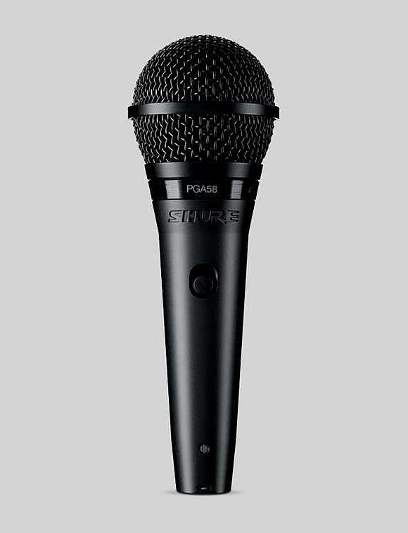 格安 正規品 SHURE PGA58-QTR ボーカル用ダイナミックマイク 新品 シュアー QTR Dynamic 輸入 Microphone PGA58QTR PGA58
