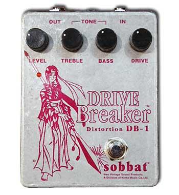 Sobbat Drive Breaker DB-1 新品[ソバット][ドライブ ブレイカー][ディストーション][エフェクター,Effector]