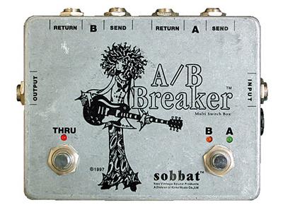 Sobbat A/B Breaker SW-1 新品[ソバット][ラインセレクター][エフェクター,Effector]