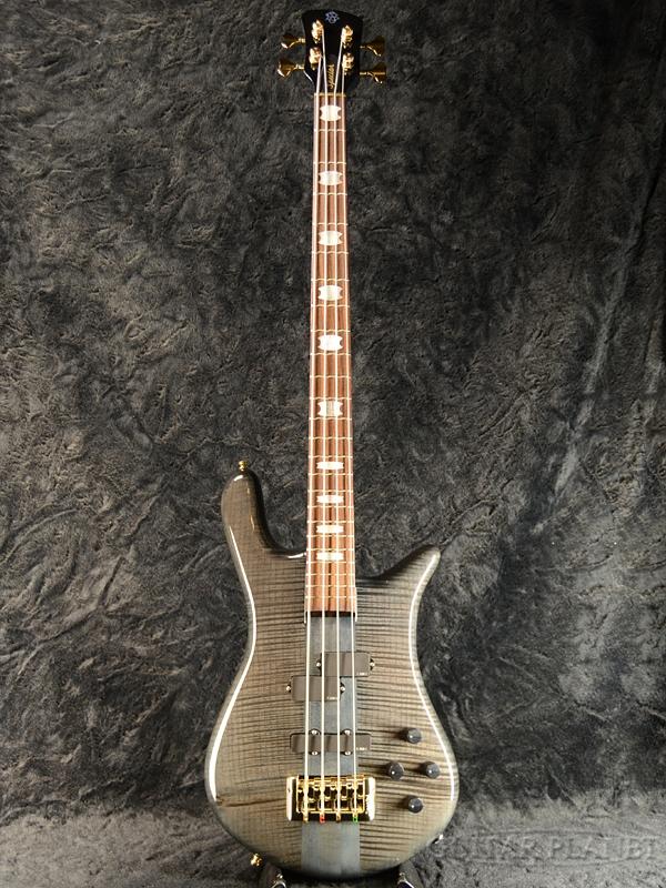 Spector EURO4LX Premium Wood -Black Stain Gloss- 新品[スペクター][ユーロ][ブラックステイングロス,黒,木目][艶あり][Electric Bass,エレキベース]