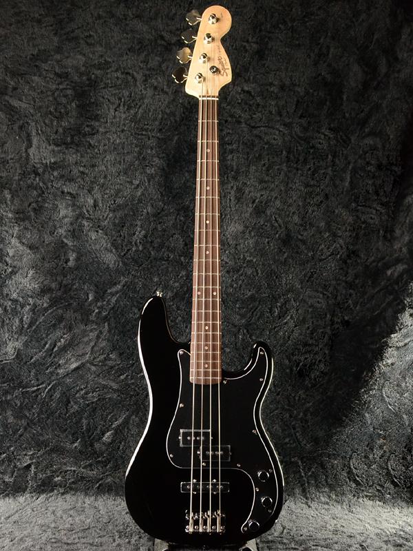 Squier Affinity PJ Bass 新品 ブラック[スクワイヤー][アフィニティ][Precision Bass,プレシジョンベース][Black,黒][Electric Guitar,エレキギター]