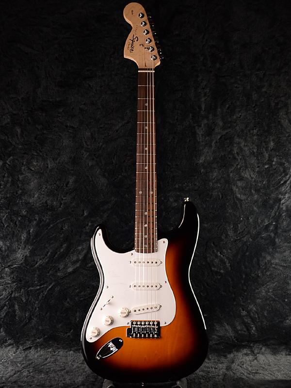 Squier Affinity Stratocaster Left Hand BSB 新品 ブラウンサンバースト[スクワイヤー][ストラトキャスター][Lefty,レフティ,左用][Brown Sunburst][Electric Guitar,エレキギター]
