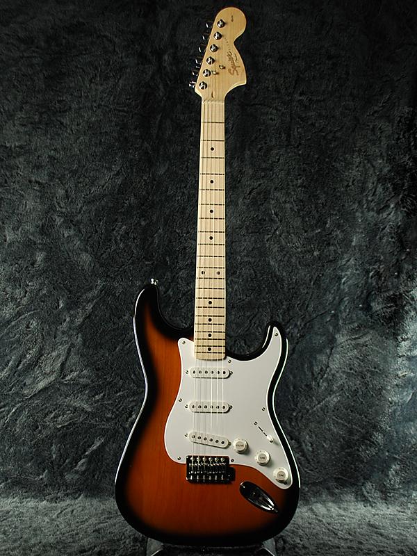 Squier Affinity Stratocaster 2CS/Maple 新品 2カラーサンバースト[スクワイヤー][ストラトキャスター][2-Color Sunburst][Electric Guitar,エレキギター]