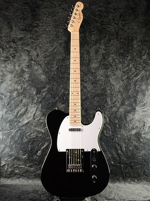 Squier Affinity Telecaster BLK 新品 ブラック[スクワイヤー][テレキャスター,TL][Black,黒][エレキギター,Electric Guitar]