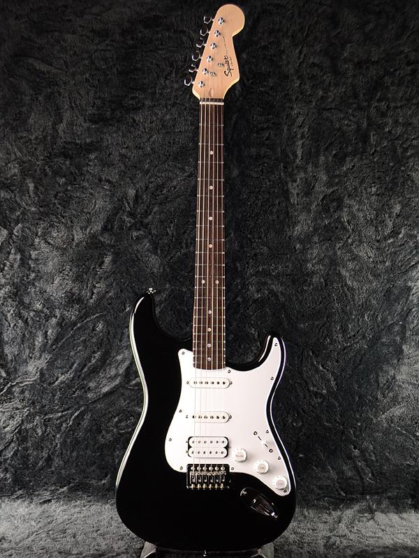 Squier Bullet w/Tremolo HSS 新品 ブラック[スクワイヤー][バレット][Black,黒][Stratocaster,ストラトキャスター][Electric Guitar,エレキギター]