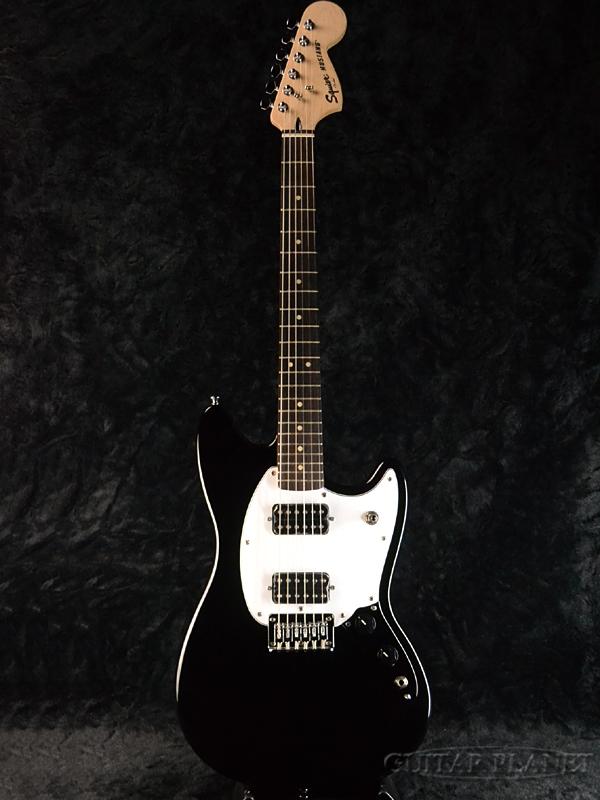 Squier Bullet Mustang HH Black 新品[スクワイヤー][バレット][ムスタング][Humbucker,ハムバッカー][ブラック,黒][Electric Guitar,エレキギター]