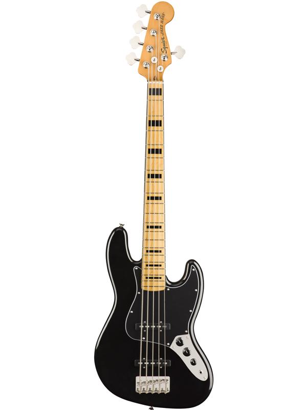 Squier Classic Vibe 70s Jazz Bass V -Black- 新品 ブラック[スクワイヤー][黒][5strings,5弦][Jazz Bass,ジャズベース][Electric Bass,エレキベース]