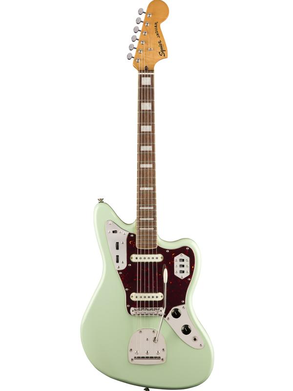 カウくる Squier Classic Vibe 70s 新品 Jaguar Classic -Surf Vibe Green- 新品 サーフグリーン[スクワイヤー][ジャガー][緑][Electric Guitar,エレキギター], 丸久金物:abcc4e0d --- businesslovenews.site