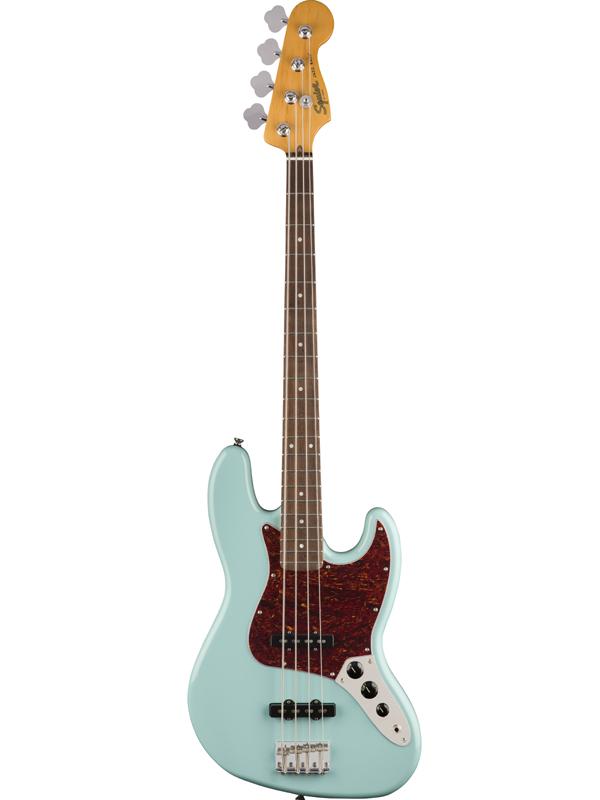 Squier Classic Vibe 60s Jazz Bass -Daphne Blue- 新品 ダフネブルー[スクワイヤー][ジャズベース][青][Electric Bass,エレキベース]