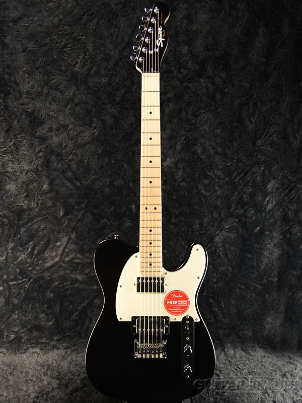 Squier Contemporary Telecaster HH -Black Metallic- 新品 [スクワイヤー][コンテンポラリー][ブラックメタリック,黒][テレキャスター][エレキギター,Electric Guitar]