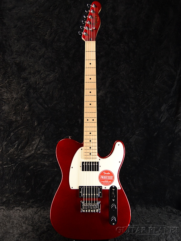 Squier Contemporary Telecaster HH -Dark Metallic Red- 新品 [スクワイヤー][コンテンポラリー][ダークメタリックレッド,赤][テレキャスター][エレキギター,Electric Guitar]