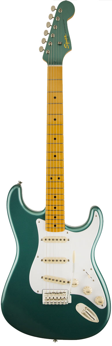 Squier Classic Vibe Stratocaster ' 50s 신품 셔우드 그린 [スクワイヤー] [클래식 바이브] [스] [Sherwood Green Metallic, 녹색] [Electric Guitar, 일렉트릭 기타]
