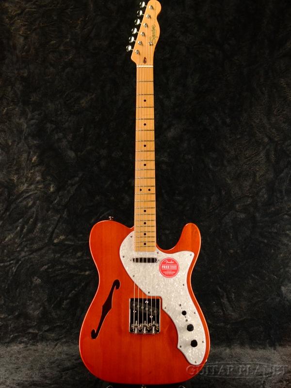 品質が Squier Classic Vibe '60s Telecaster Thinline -Natural / Maple- 新品 ナチュラル[Fender,スクワイヤー,フェンダー][テレキャスターシンライン][Electric Guitar,エレキギター], Happy ハッピー f4ac711e