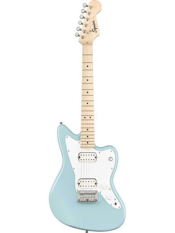 Squier Mini Jazzmaster HH -Daphne Blue- 新品 ミニギター[スクワイヤー][ブルー,青][ジャズマスター][Guitar]
