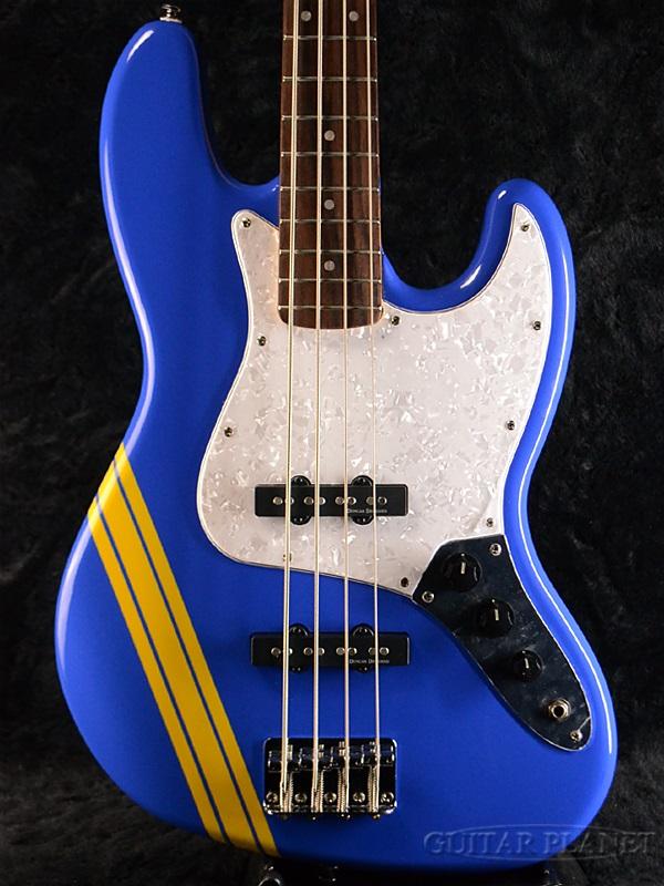 "Squier SCANDAL TOMOMI JAZZ BASS SKY BLUE""Bluetus""新货[锄头年][丑闻][tomomi][爵士基础][天蓝色,蓝][布鲁特斯][Electric Bass,电子吉他基础]"
