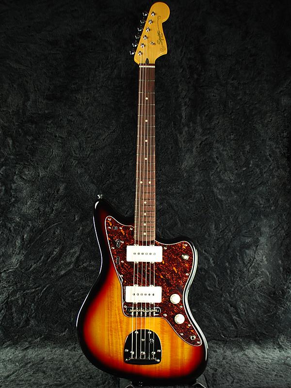 Squier Vintage Modified Jazzmaster 3CS 新品 3カラーサンバースト [スクワイヤー][3-Color Sunburst][JM,ジャズマスター][エレキギター,Electric Guitar]