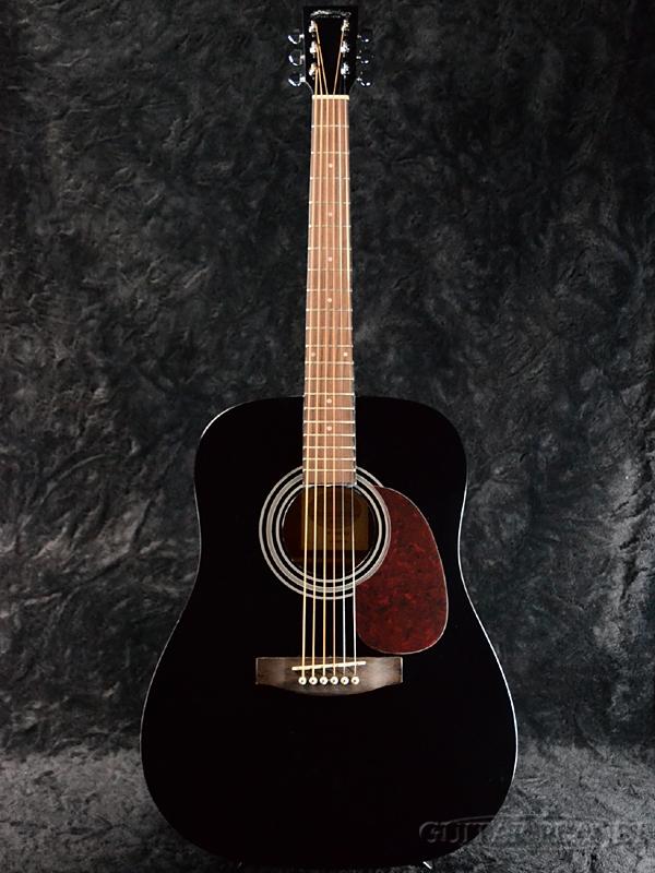 Stafford SF-200D Black 新品[スタッフォード][SF200D][ブラック,黒][Acoustic Guitar,アコースティックギター,アコギ,Folk Guitar,フォークギター]