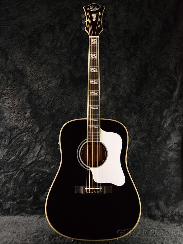 Guitar Planet Stafford Sad 1999 Studio Black White Pickguard Brand