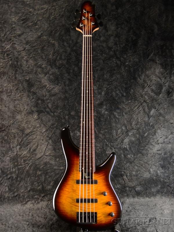 Sugi NB5C 432 EM / A-MAHO2P -59B- 新品[スギ,杉本眞][国産/日本製][サンバースト][5strings,5弦][Electric Bass,エレキベース]