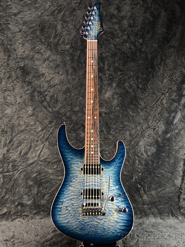 Suhr Modern Carve Top -Faded Trams Whale Blue Burst- 新品[サー][モダン][カーブトップ][ブルーバースト,青][Stratocaster,ストラトキャスター][Electric Guitar,エレキギター]