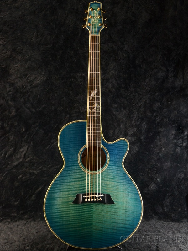 Takamine LTD2016 DECOY New Instruments Home Decoy See Through Blue Transparent Electric Acoustic Guitar