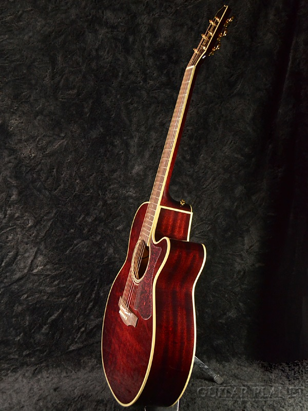 Taamine DMP551C WR Wine Red [Brand new][Made in Japan][Electric Acoustic Guitar]