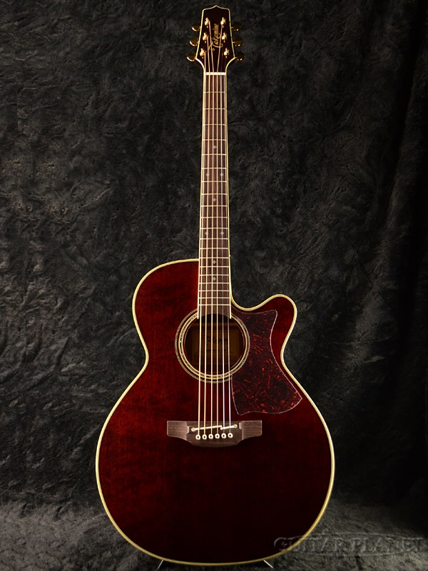 Takamine DMP551C WR With Contact Pickup Wine Red Brand NewMade In JapanElectric Acoustic Guitar