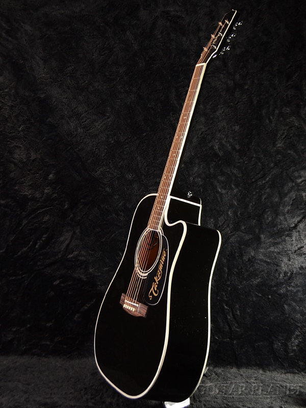 guitar planet takamine ef341sc with contact pickup black brand new made in japan electric. Black Bedroom Furniture Sets. Home Design Ideas