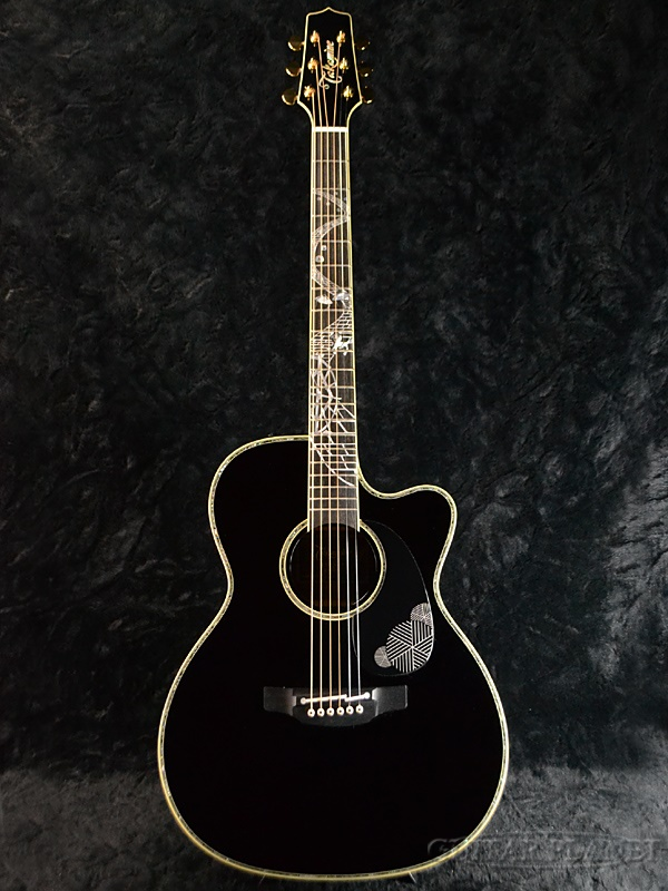 【CNBギグバッグ・プレゼント!】【NAMM SHOW 2017出展モデル】Takamine LTD2017 -MAGOME- 新品[タカミネ,高峰楽器][国産][馬籠宿][Black,ブラック,黒][Electric Acoustic Guitar,アコースティックギター,エレアコ]