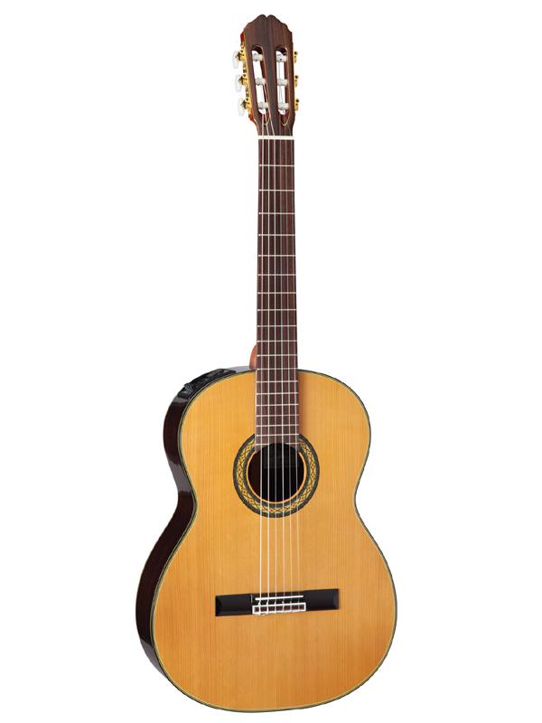 Takamine PTU340N N 新品[タカミネ][国産][Natural,ナチュラル,木目][Electric Classical Guitar,クラシックギター,エレガット]