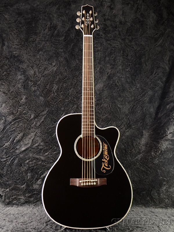 guitar planet takamine dmp751c black brand new made in japan electric acoustic guitar. Black Bedroom Furniture Sets. Home Design Ideas