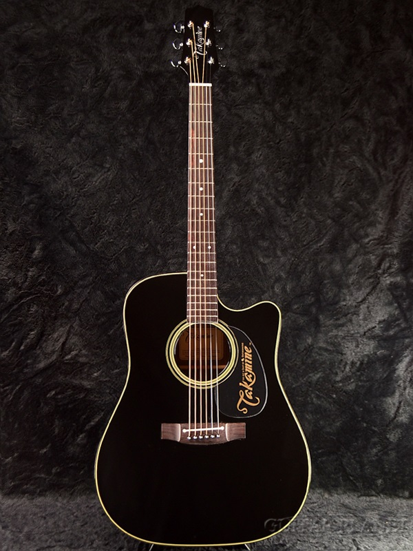 guitar planet takamine ef340sc gn black brand new made in japan electric acoustic guitar. Black Bedroom Furniture Sets. Home Design Ideas