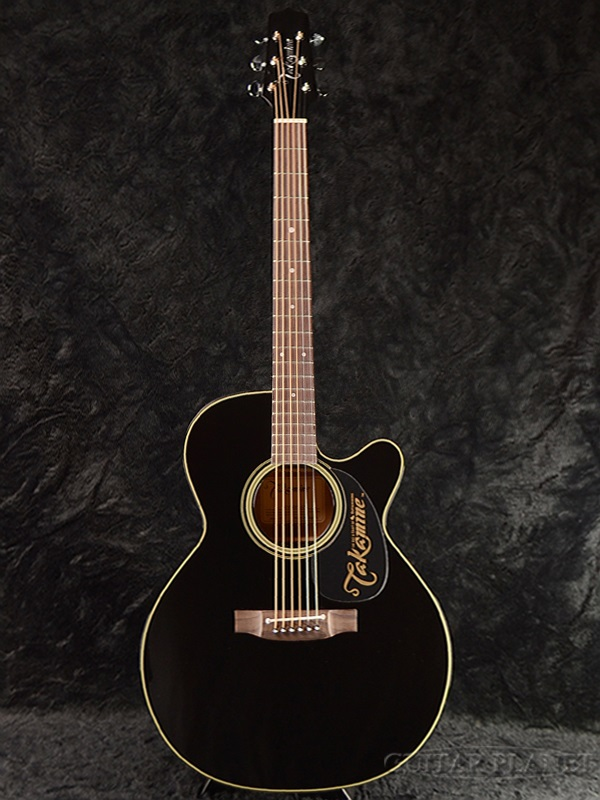 guitar planet takamine ef440sc gn black brand new made in japan electric acoustic guitar. Black Bedroom Furniture Sets. Home Design Ideas