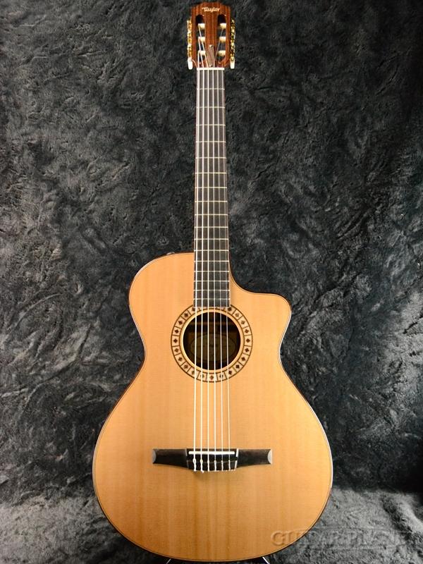 【20本限定生産】NS72ce-Nylon JPN LTD 新品 エレガット[テイラー][Nylon][Rosewood,ローズウッド][Natural,ナチュラル,木目][Electric Guitar,エレキギター][Classical Guitar,クラシックギター]