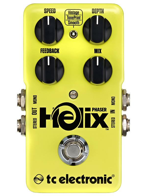 t.c.electronic Helix Phaser 新品 フェイザー[tcエレクトロニック][ヘリックスフェイザー][Effector,エフェクター]