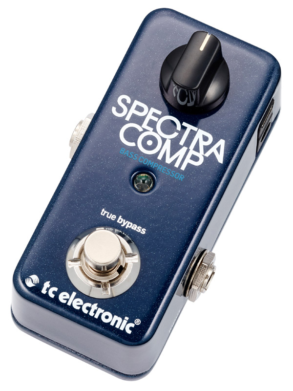 t.c.electronic SpectraComp Bass Compressor 新品 ベース用コンプレッサー[TCエレクトロニック][スペクトラコンプ][Effector,エフェクター]