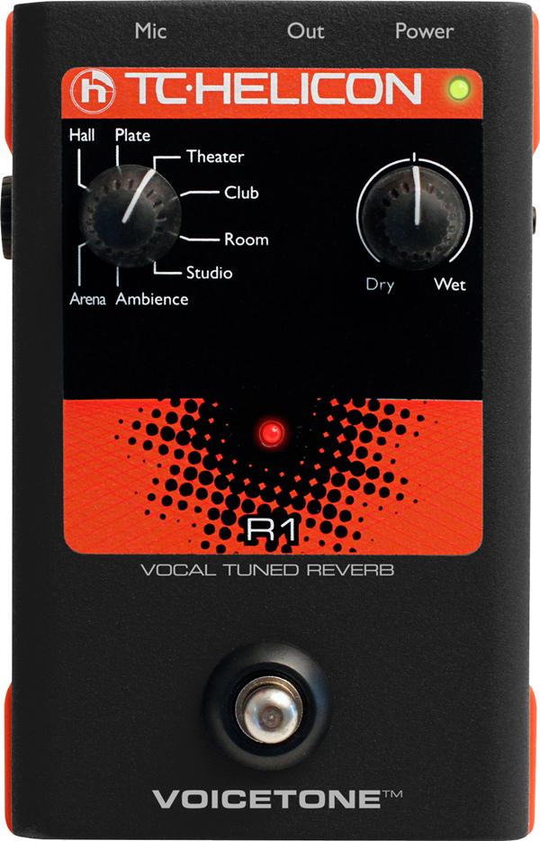 TC HELICON VoiceTone R1 新品 ヴォーカル用リバーブ[TCヘリコン,t.c.electronic,TCエレクトロニック][Vocal Effector,エフェクター][Reverb]