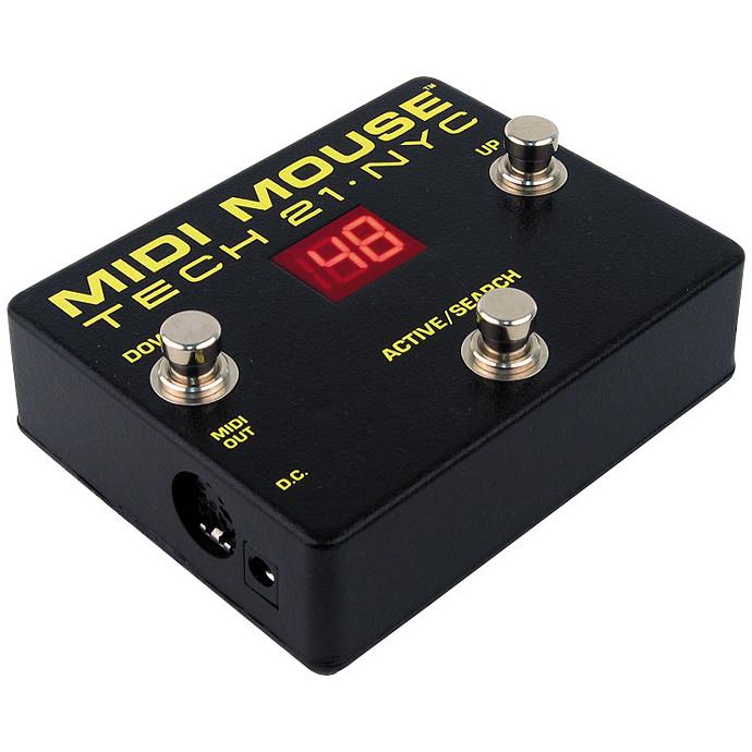 【正規品】TECH21 SansAmp MIDI MOUSE 新品 MIDIスイッチ[テック21][サンズアンプ][ミディマウス][Effector,エフェクター]