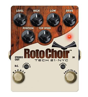 【正規品】TECH21 SansAmp Roto Choir 新品 ロータリースピーカー/エミュレーター[テック21][サンズアンプ][ロトクワイア][Amp Simulator,DIボックス][Effector,エフェクター]