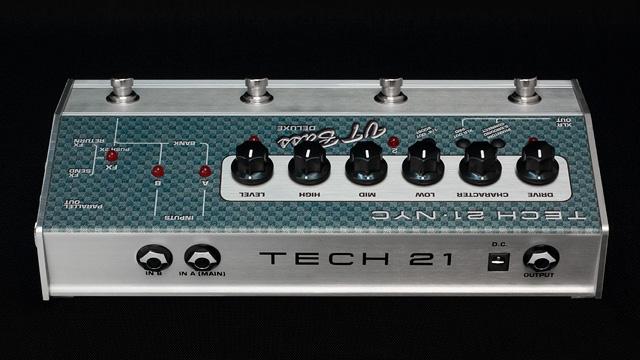 TECH21 SansAmp VT 低音豪华品牌新贝斯音箱模拟器 [sansamp],[VT] [DI] [前置放大器,放大器] [末端和效应器]