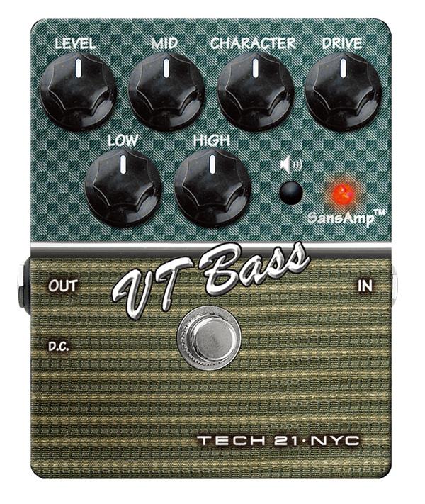 【正規品】TECH21 SansAmp VT Bass 新品 ベース用アンプシミュレーター[サンズアンプ][Amp Simulator][プリアンプ][Effector,エフェクター]