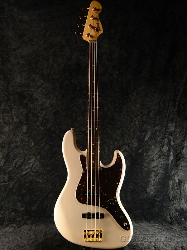 Tokai AJB112G -See Through White- 新品[トーカイ][ホワイト,白][Jazz Bass,ジャズベース][Electric Bass,エレキベース][AJB-112G]