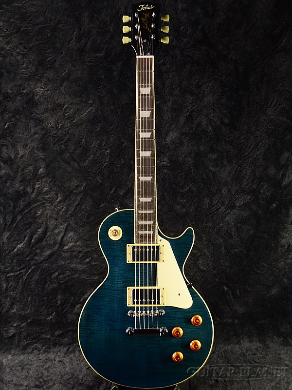 Tokai ALS62 SBL 新品 シースルーブルー[トーカイ][Les Paul,レスポールタイプ][Blue,青][Electric Guitar,エレキギター][ALS-62]