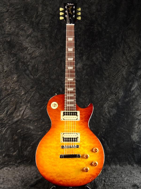 Tokai ALS64QZ VF 新品 ヴァイオリンフィニッシュ[トーカイ][Les Paul,レスポールタイプ][Violin Finish,Sunburst,サンバースト][Quilt,キルト][Electric Guitar,エレキギター][ALS-64QZ]