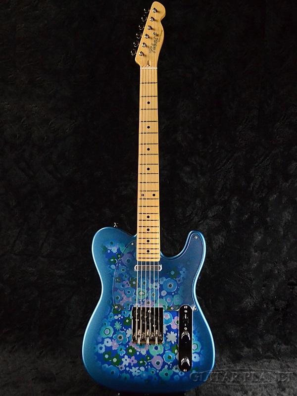 Tokai ATE122 BFR Blue Flower 新品[トーカイ,東海楽器][国産][ブルーフラワー,青][Telecaster,TL,テレキャスタータイプ][Electric Guitar,エレキギター][ATE-122]