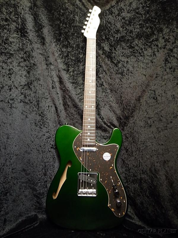 【弊店オーダーモデル】Tokai ATH-GP AL CAGR 新品[トーカイ,東海楽器][国産][グリーン,緑][Thinline,シンライン][エレキギター,Electric Guitar]