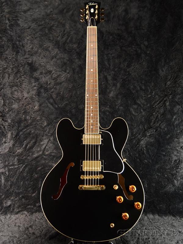 Tokai ES187G BB 新品 [トーカイ,東海楽器][国産][Black,黒][セミアコ][Electric Guitar,エレキギター][ES-187G]