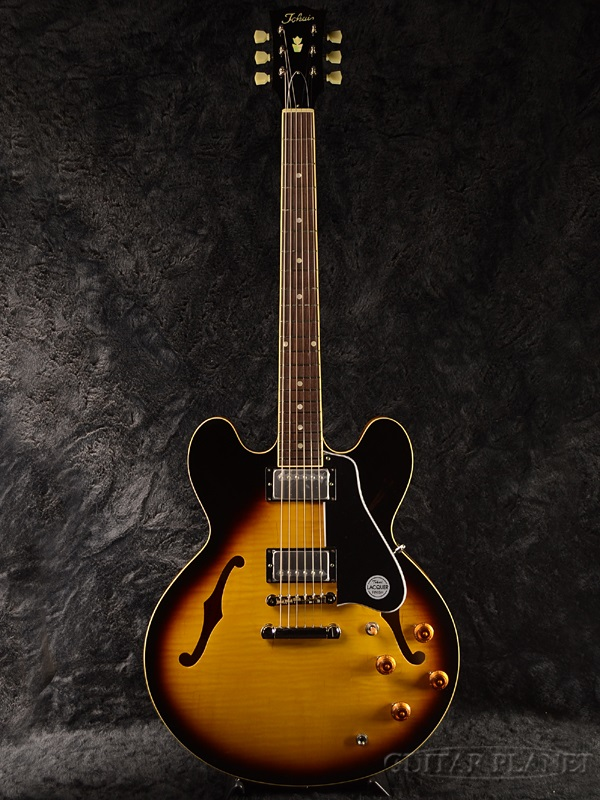 Brand new Tokai ES210 SB [Tokai, Tokai], [home] [Sunburst, Sunburst] [ES-210] [semiaco] [Electric Guitar, an electric guitar] [videos]